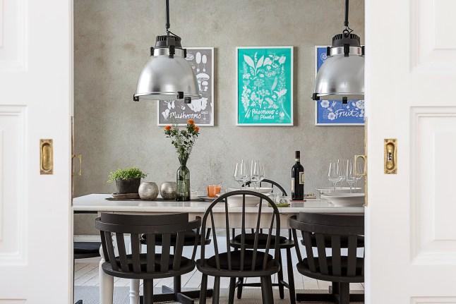 2 comedor nordico industrial varias sillas decoratualma dta