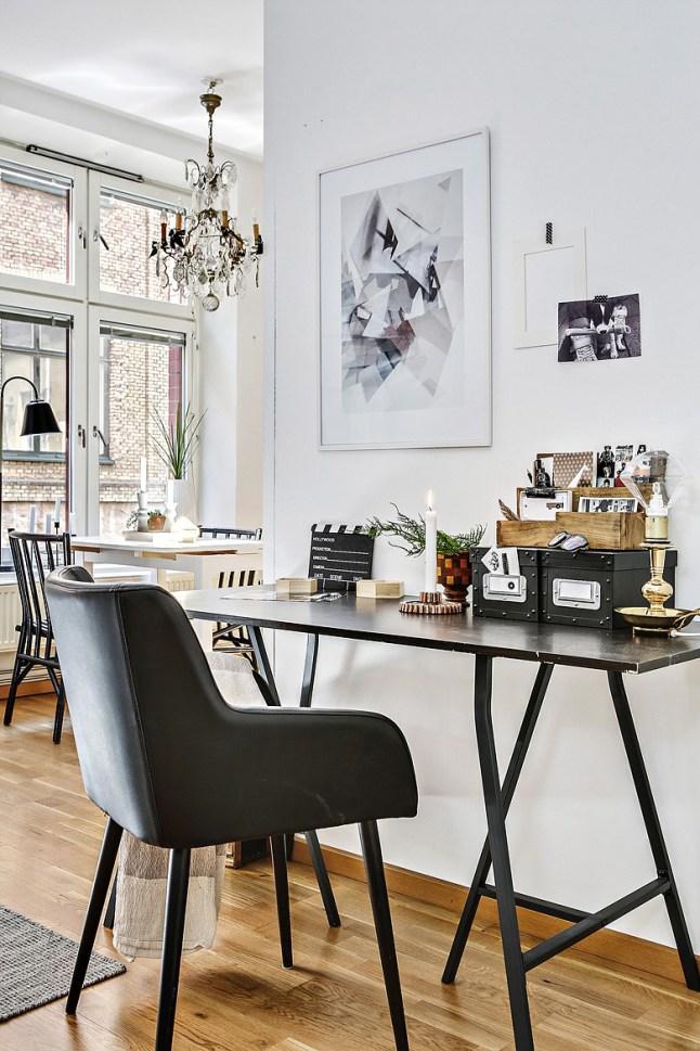 8 zona de trabajo en el apartamento - dta