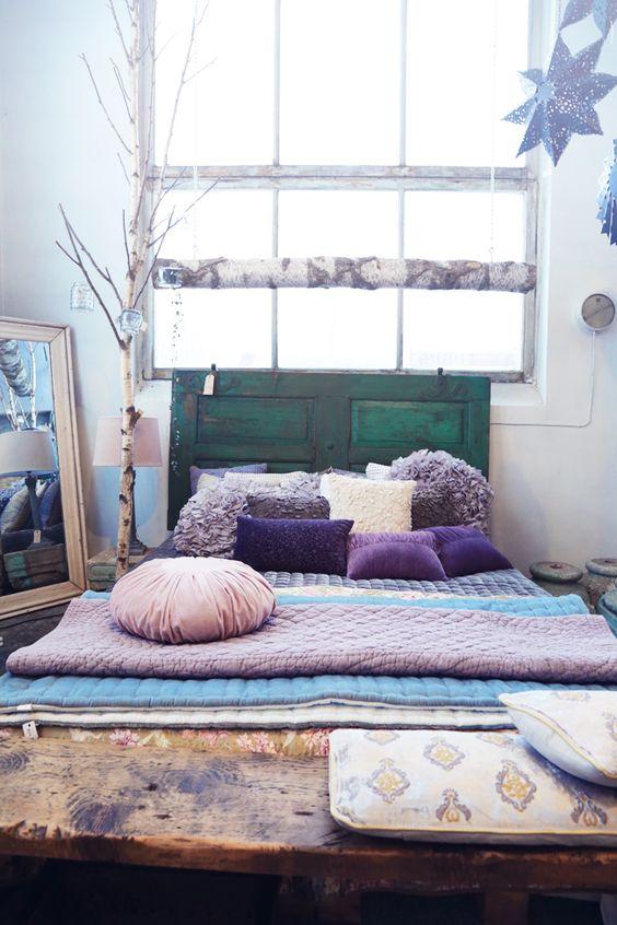 Dormitorio boho decoratualma dta