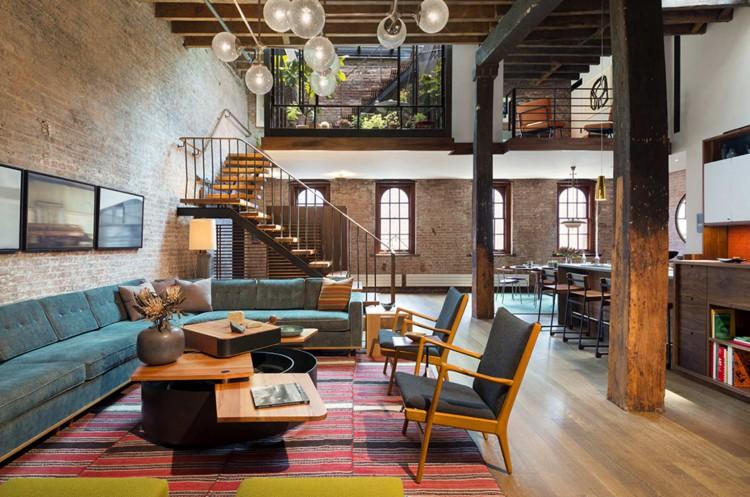 7 loft salón decoratualma loft estilo industrial vanguardista dta