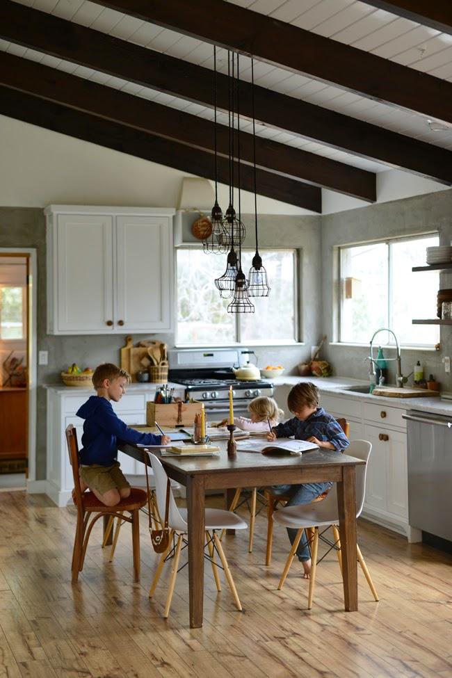 DTA cocina niños vida dta decoratualma estilo boho relajado