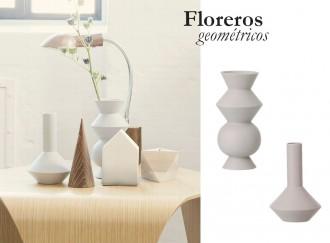 florero geométrico ferm living