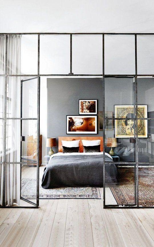 Dormitorio wall window
