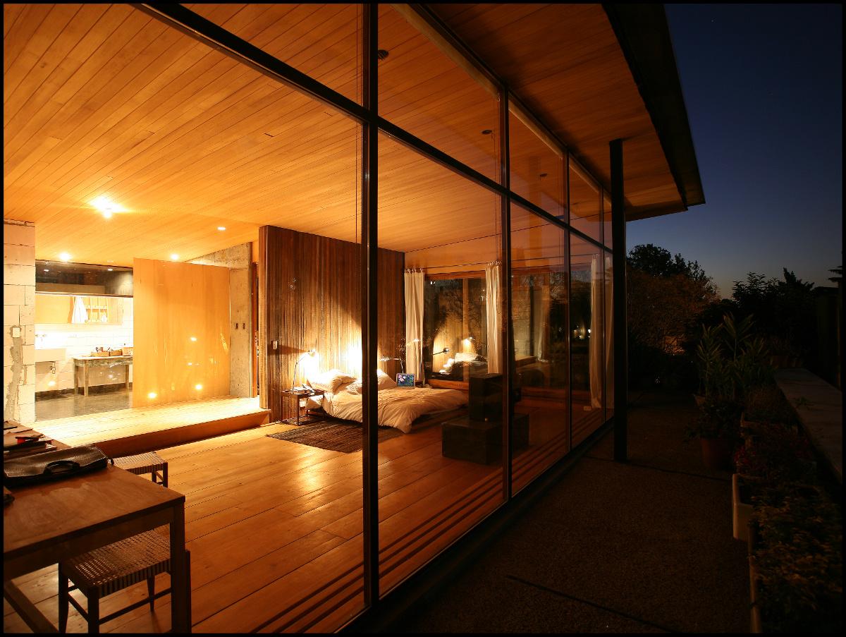 13 dormitorio en madera luz calida decoratualma dta