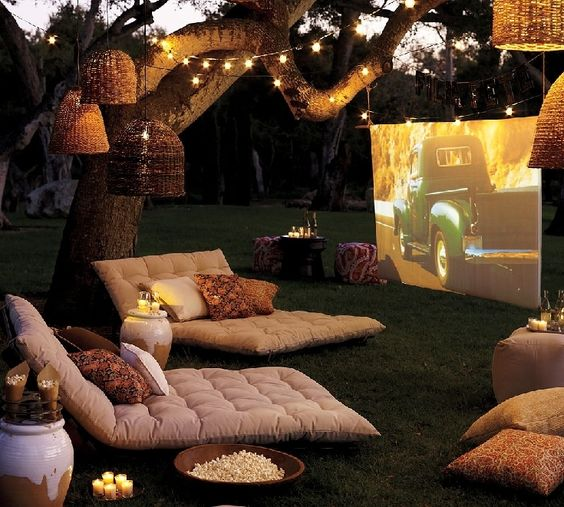 Cine al aire libre decoratualma