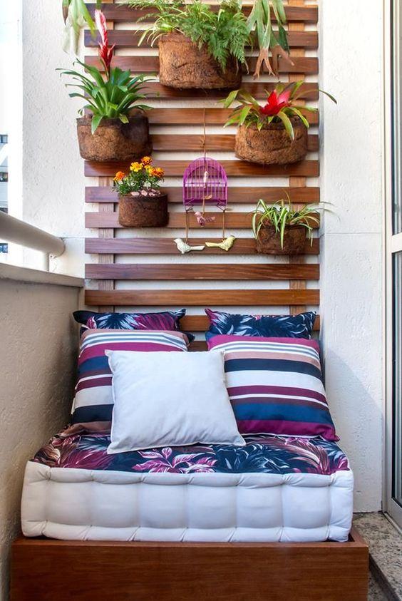 balcon pequeño decoracion