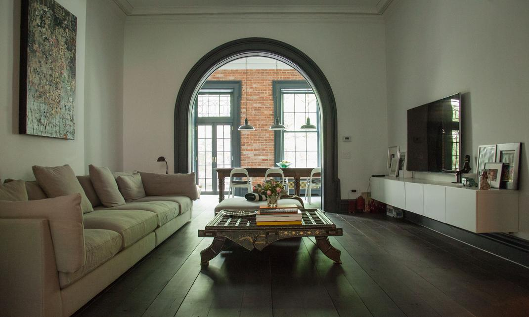 Decoratualma arco casa brooklying estilo industrial boho