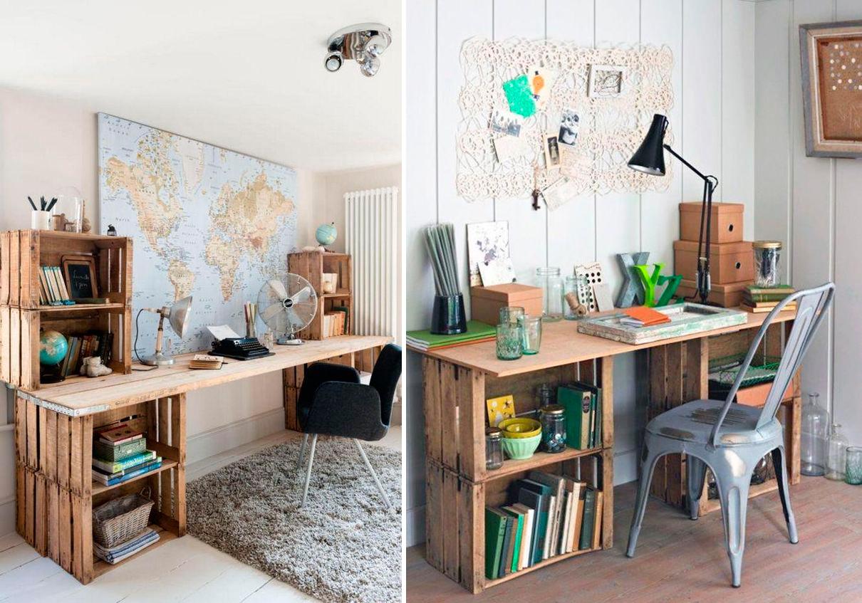 escritorios-con-cajas-de-madera