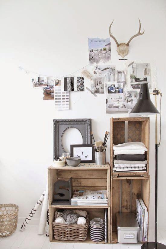 estanteria-cajas-madera-boho