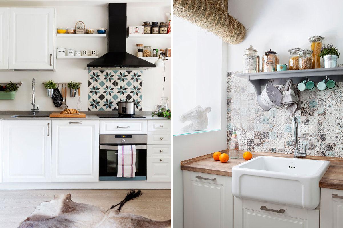Consigue la cocina de tus sue os decoratualma - Baldosas de cocina ...