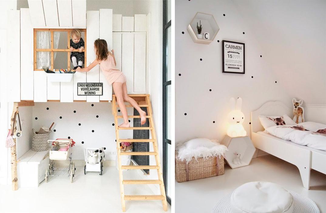 Vinilos en el dormitorio de los peques decoratualma for Vinilos de dormitorios