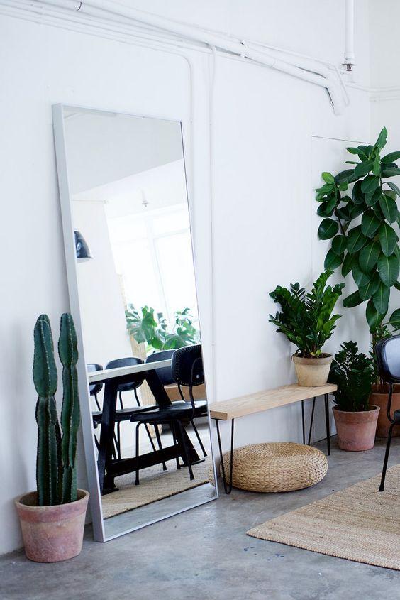 Inspiraci n decorar con espejos decoratualma for Espejos de suelo