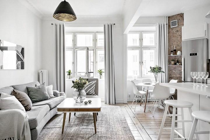 Reforma integral en un piso para abrir los espacios