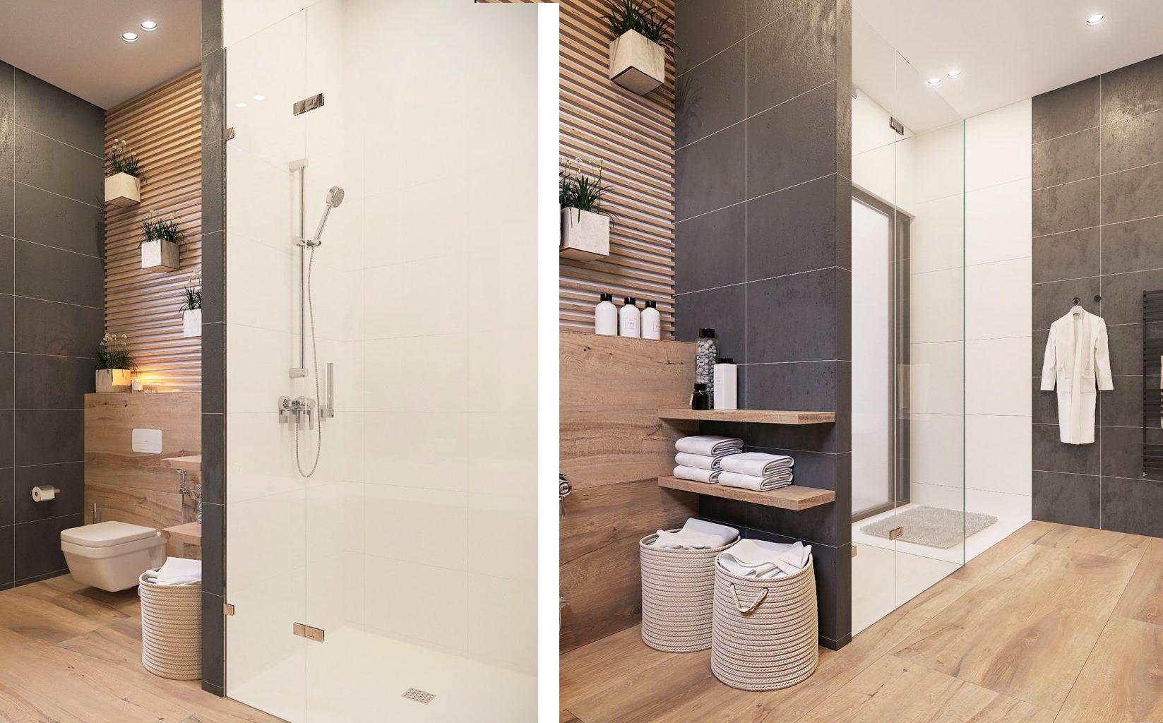 Inspiraci n ba os con mamparas de ducha decoratualma for Diseno medio bano