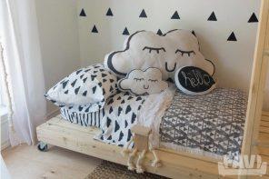 ¿Un dormitorio nórdico para los peques?