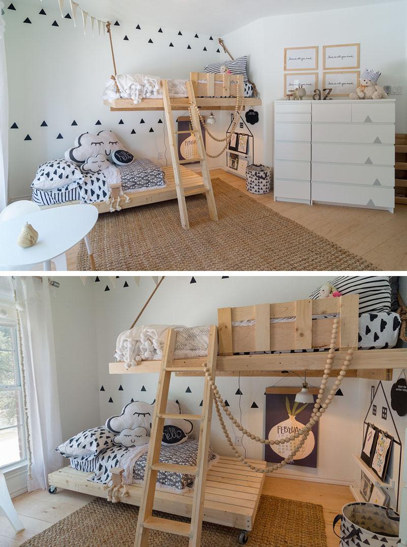 Un dormitorio n rdico para los peques decoratualma for Dormitorio infantil nordico