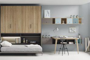 ¿Necesitas más espacio en el dormitorio? Estas camas abatibles son la mejor opción