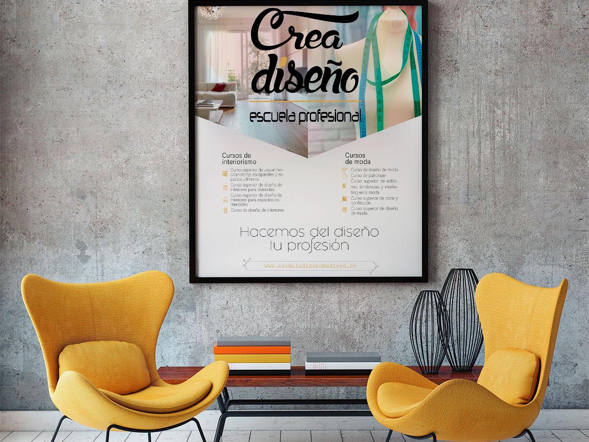 estudiar diseño interiores, escuela diseño interiores, creadiseño, masterd