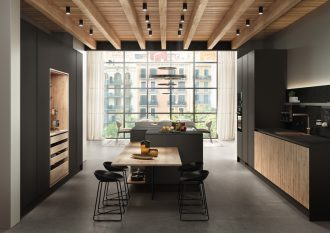 Cocina-vanguardista-en-madera-microcemento-y-tonos-oscuros-Tmatt-Nero-y-Roble-Nudos-1